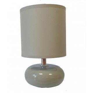 Lampka stpojąca ceramiczna beżowa
