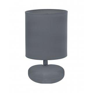 Lampka stojąca ceramiczna szara