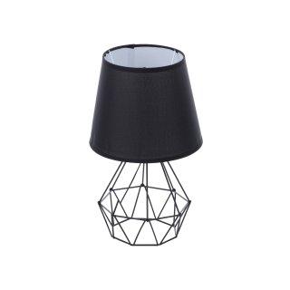 Lampka stojąca metalowa czarna