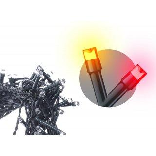 Lampki choinkowe 120 LED świetliki vintage/czerwone EMOS