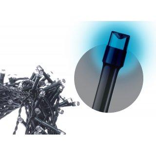 Lampki choinkowe niebieskie 100 LED + zasilacz EMOS