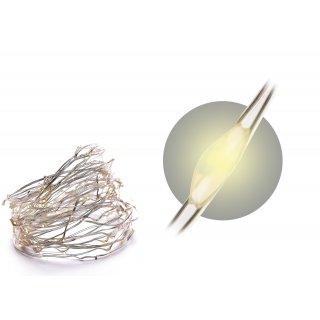 Łańcuch dekoracyjny LED 95 cm ciepły biały KAEMINGK
