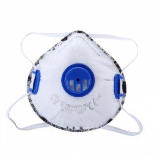 Maska przeciwpyłowa z zaworkiem aktywny węgiel LAHTI PRO
