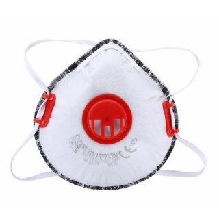 Maska przeciwpyłowa z zaworem aktywny węgiel FFP2 LAHTI PRO