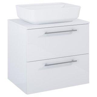 Zestaw mebli łazienkowych Modo 2S 60  Biały z umywalką Enzo