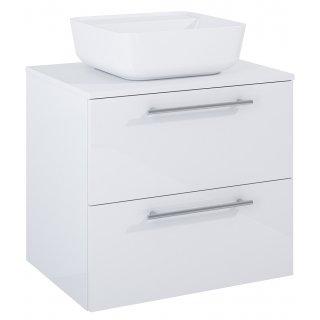 Zestaw mebli łazienkowych Modo 2S 60  Biały z umywalką Tonia