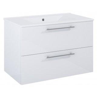 Zestaw mebli łazienkowych Modo 2S 80  Biały z umywalką Kyra