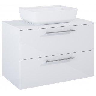 Zestaw mebli łazienkowych Modo 2S 80  Biały z umywalką Enzo