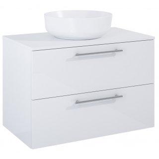 Zestaw mebli łazienkowych Modo 2S 80  Biały z umywalką Lorca
