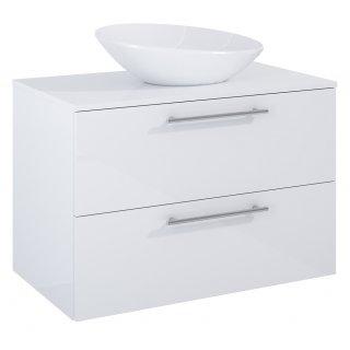 Zestaw mebli łazienkowych Modo 2S 80  Biały z umywalką Oxy