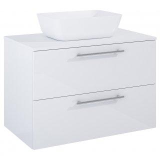 Zestaw mebli łazienkowych Modo 2S 80  Biały z umywalką Reni
