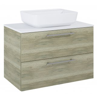 Zestaw mebli łazienkowych Modo 2S 80 Sanremo z umywalką Enzo