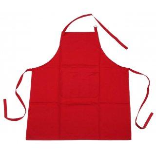Fartuch 70x80 cm bawełna czerwona Monokolor ALTOM