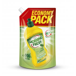 Płyn do naczyń  900 ml Lemon MORNING FRESH REFIL