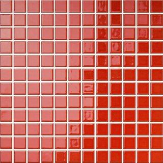 Mozaika Palette czerwona 30x30 cm OPOCZNO