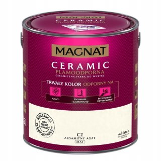 Farba ceramiczna 5 L Aksamitny agat MAGNAT CERAMIC