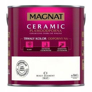 Farba ceramiczna 5 L Biały diament MAGNAT CERAMIC