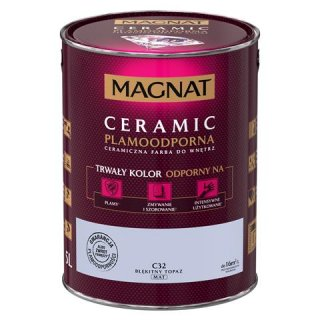 Farba ceramiczna 5 L Błękitny topaz MAGNAT CERAMIC