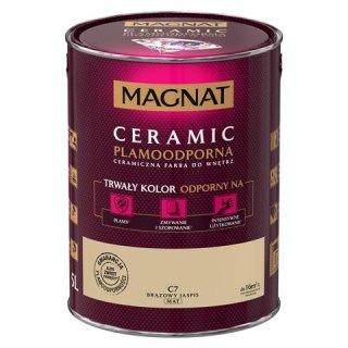 Farba ceramiczna 5 L Brązowy jaspis MAGNAT CERAMIC