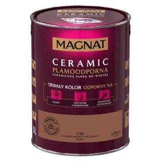 Farba ceramiczna 5 L Czekoladowy krzemień MAGNAT CERAMIC