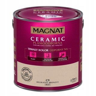 Farba ceramiczna 5 L Delikatny brązyt MAGNAT CERAMIC