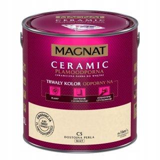 Farba ceramiczna 5 L Dostojna perła MAGNAT CERAMIC