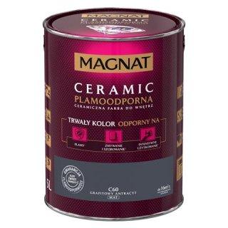 Farba ceramiczna 5 L Grafitowy antracyt MAGNAT CERAMIC