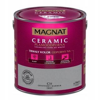 Farba ceramiczna 5 L Grafitowy marmur MAGNAT CERAMIC