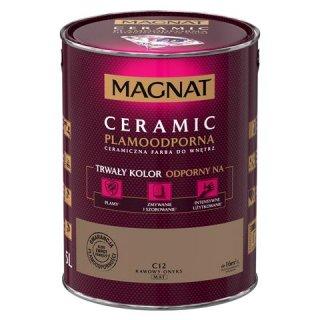 Farba ceramiczna 5 L Kawowy onyks MAGNAT CERAMIC