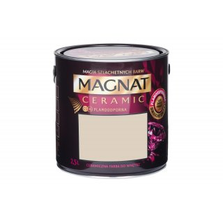 Farba ceramiczna kremowy jaspis C63 2,5L MAGNAT