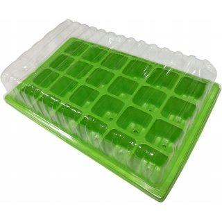 Miniszklarnia do kiełkowania 24 komórki - 3 sztuki