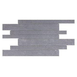 Mozaika ścienna grafitowa 22,2x44,6 cm CERSANIT