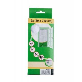 Moskitiera drzwiowa biała 60x210 cm