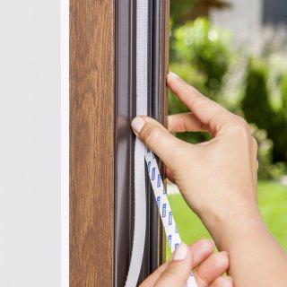 Moskitiera na okno Comfort 1,3m x 1,5m, biała TESA