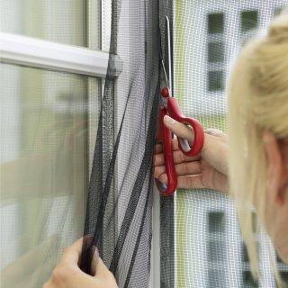 Moskitiera okienna Standard 130x150 cm biała TESA