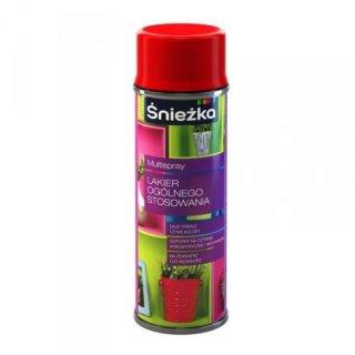 Spray uniwersalny biały mat 400 ml ŚNIEŻKA