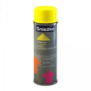 Spray fluoroscencyjny żółty 400 ml ŚNIEŻKA