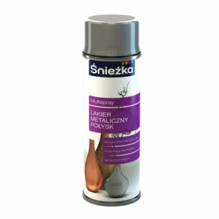 Spray metaliczny chromowy 400 ml ŚNIEŻKA