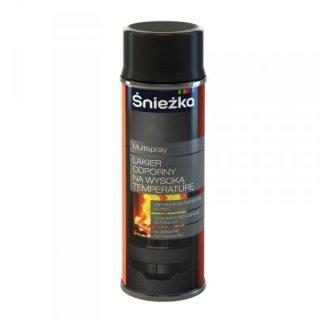 Spray wysokotemperaturowy czarny 400 ml ŚNIEŻKA