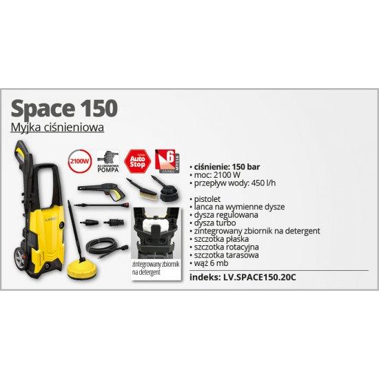 Myjka wysokociśnieniowa Space 150 LAVOR