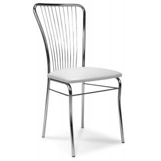 Krzesło tapicerowane Roma Silver szare NOWY STYL