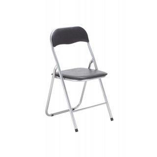 Krzesło składane PEDRO kolor czarny NOWY STYL
