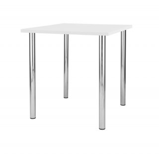 Stół kuchenny Duna 80x80 cm biały NOWY STYL