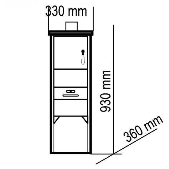 Piec grzewczy stalowy 7 kW LM