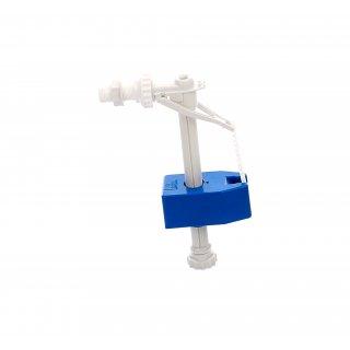 Zawór napełniający spłuczkę WC 1/2 i 3/8 plastikowy NERGIS