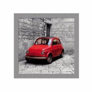 Obraz na ścianę motyw czerwony samochód KNOR