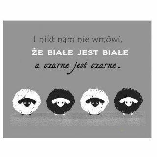 Obraz na ścianę motyw prl owce KNOR