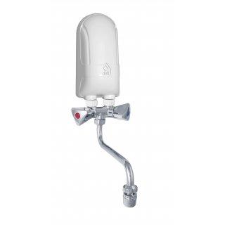 Ogrzewacz wody 4,5 kW z baterią metalową 13,5 cm DAFI