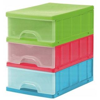 Zestaw szuflad A5 3 częściowy KEEEPER