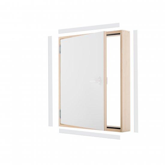 Drzwi kolankowe DK TERMO 100x70 cm OMAN